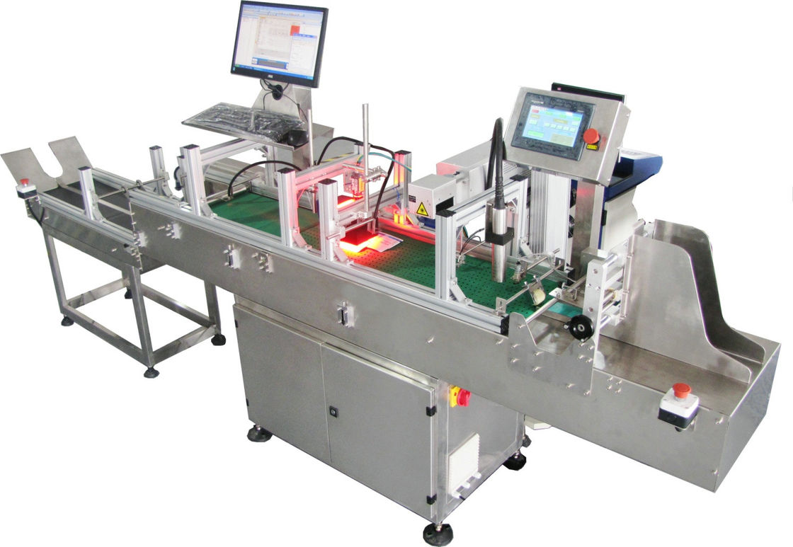 Identification Paging Machine Automatically Separating The Stacked Products
